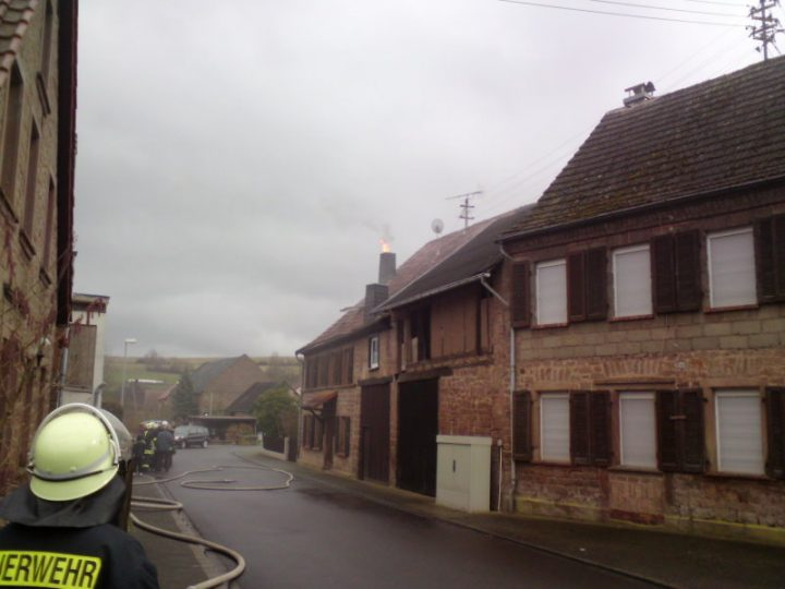 Kaminbrand in Bärweiler