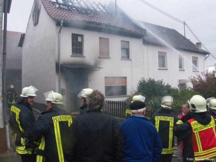 Wohngebäudebrand in Lauschied