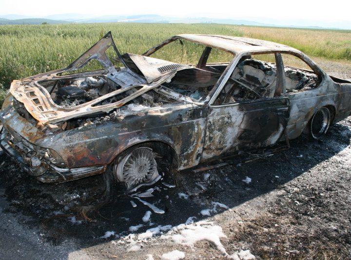 Fahrzeugbrand auf der Gemarkung