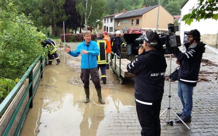 Extremwetterlage im Landkreis