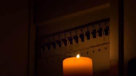 Stromausfall am Abend
